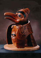 Raven carving #213 (5549 bytes)
